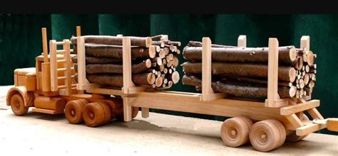 wooden logging truck plans woodworking session