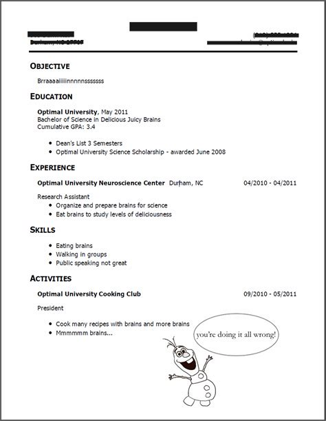 sorority resume how to everything you need to include and an