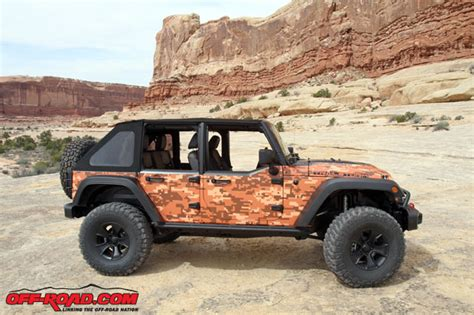 Moab Jeeps Moab Jeep Trailstorm Concept Wrangler Is Ground In