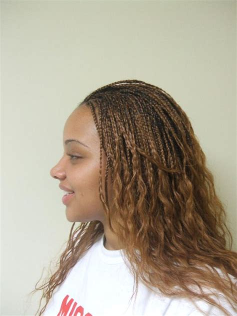 25 best ideas about micro braids hairstyles on