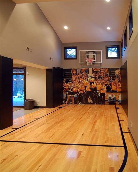25 best ideas about indoor basketball court on