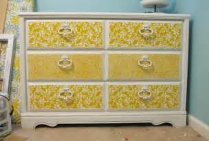 modge podge dresser furniture makeover ideas