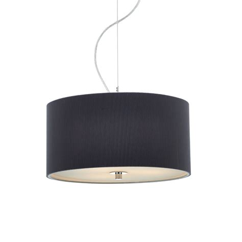 grey ceiling light dar zar1039 zaragoza 3 light micro pleat grey ceiling pendant