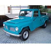 Willys Brazilian Luxo Pickup
