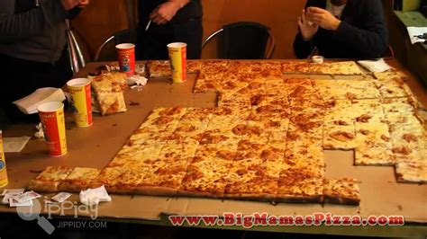 big mamas and papas pizza challenge v food world s largest deliverable pizza
