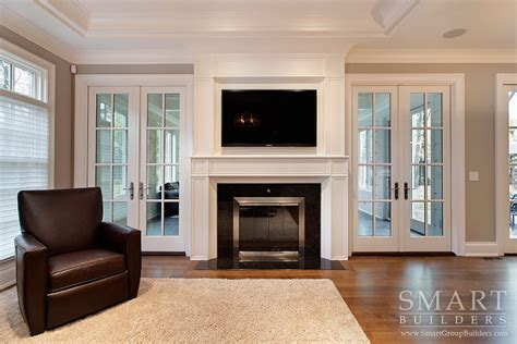 new construction fireplace provided by smart builders homes renovations smart custom home builders new construction