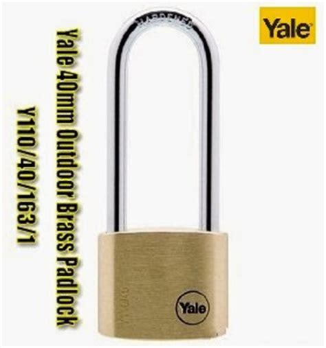 Yale Y110 40 163 1 Padlock Gembok skl diy uptown yale solid brass padlock y110 40 163 1