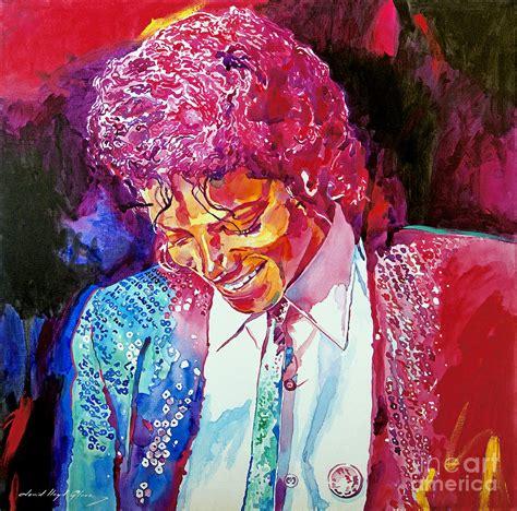 painting michael jackson michael jackson painting by david lloyd
