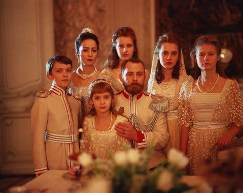 the family romanov family in the romanov family