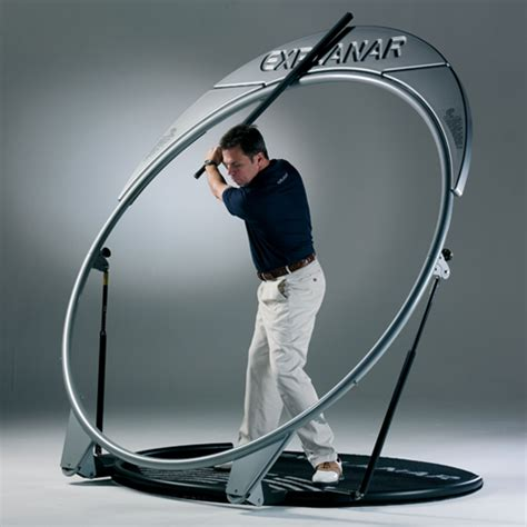 practice golf swing tark s indoor golf saratoga explanar swing trainer