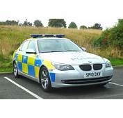BMW 5 Series E60  POLICE SCOTLAND SF10 DXV