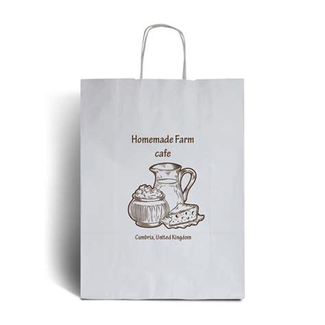 printable paper bags uk white printed paper bags printed packaging