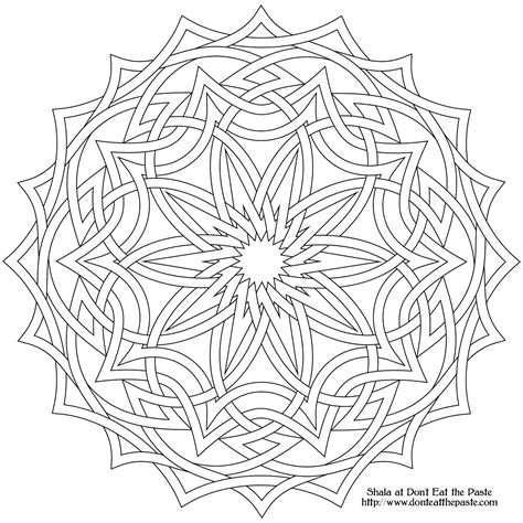 intricate coloring book pages intricate design coloring pages coloring home