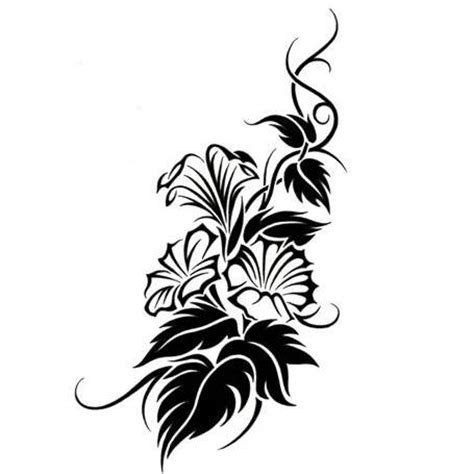 lily tribal tattoos tribal lilies design tattoowoo