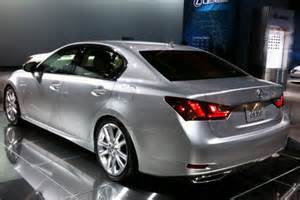 lexus plans small hybrid for new gs lexus plans small