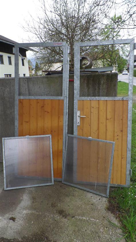 Plexiglasfenster Mit Rahmen by Stalltor Selbstabholung
