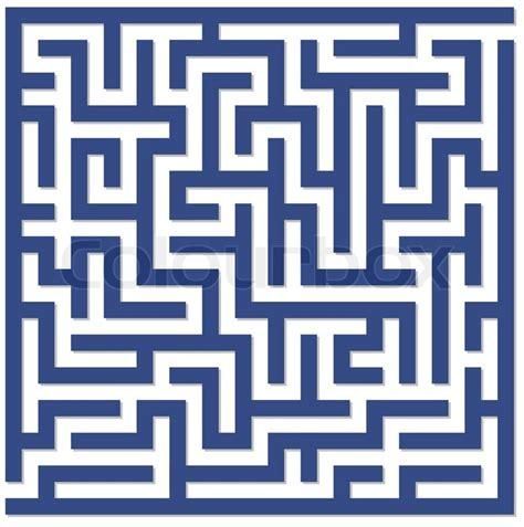Home Design Graph Paper labyrinth labyrinth eckig stock vektor colourbox