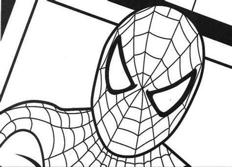 spiderman head coloring page online spiderman coloring pictures spiderman coloring