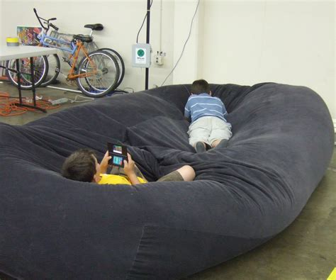 4 Bedroom Double Wide bean bag sofa bed