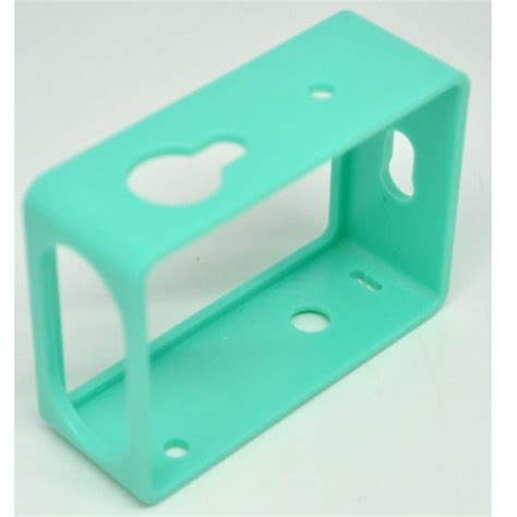 Protective Side Frame Plastic For Xiaomi Yi 2 4k tmc plastic side frame for xiaomi yi hr319 green jakartanotebook