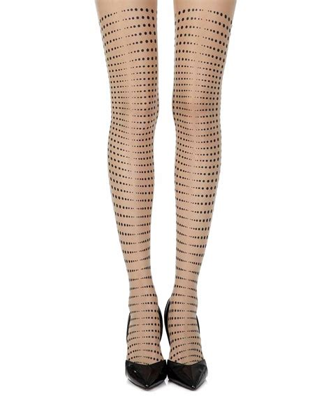 tattoo sheer tights quot matching point quot skin trendylegs