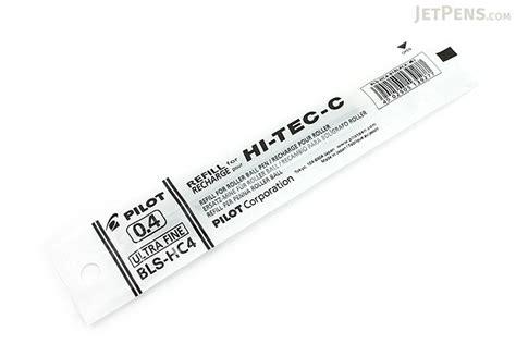 Pilot Pen Refill Hi Tec C 0 4 Mm Blue 1 Pc pilot hi tec c gel pen refill 0 4 mm black jetpens