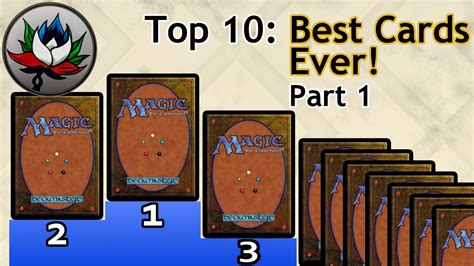 best card mtg top 10 best magic the gathering cards printed
