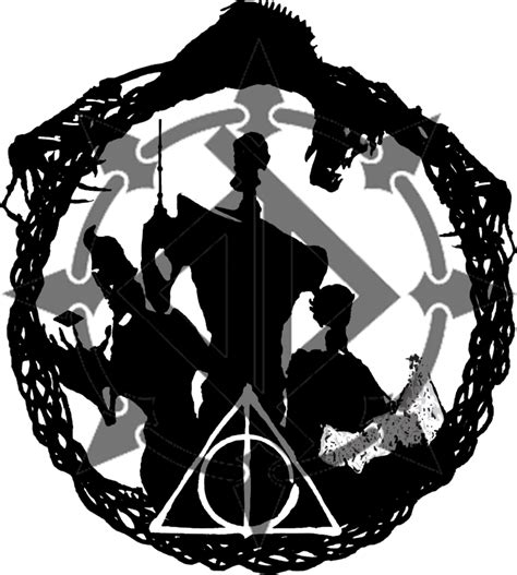 deathly hallows design by ds designs on da on deviantart