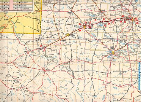 map west texas texasfreeway gt statewide gt historic information gt road maps