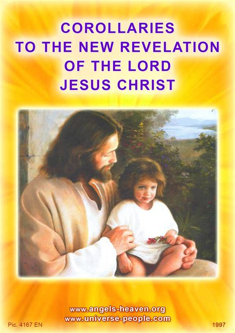 the new revelation books corollaries to the new revelation of the lord jesus