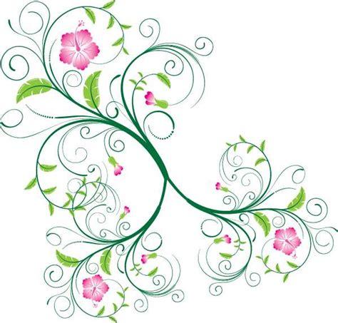 decorazioni con fiori decorazione con fiori a spirale ornament swirl floral