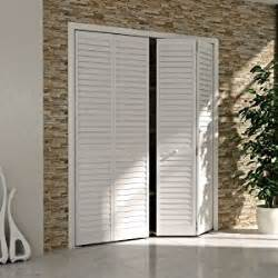 Plantation Closet Doors Bi Fold Door Louver Louver Plantation 1x30x80 White