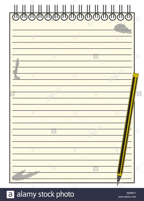 notepad template a lined reporter s blank notepad template or background