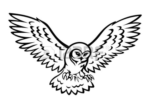 owl wings coloring page flying owl silhouette clipart panda free clipart images