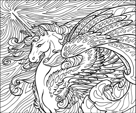 crazy hard coloring pages star wave unicorn lineart by rachaelm5 on deviantart