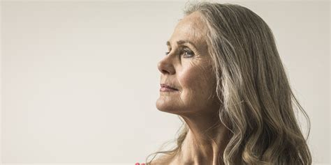 80 year old women long hair the 6 body parts that reveal your age first huffpost