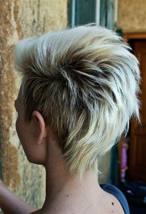very short punk asymmetrical hairstyles for women on pinterest cute short hair ideas 2012 2013 short hairstyles 2017