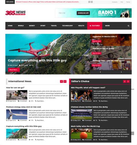 30 News Joomla Themes Templates Free Premium Templates News Magazine Template
