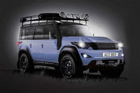 new 2017 land rover defender rumors and release date
