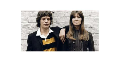 francoise hardy mick jagger fran 231 oise hardy quot mick jagger bowie lennon ont tous