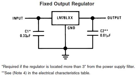 current going through capacitor capacitor how much capacitance do i need in the input of lm78l05 electrical engineering