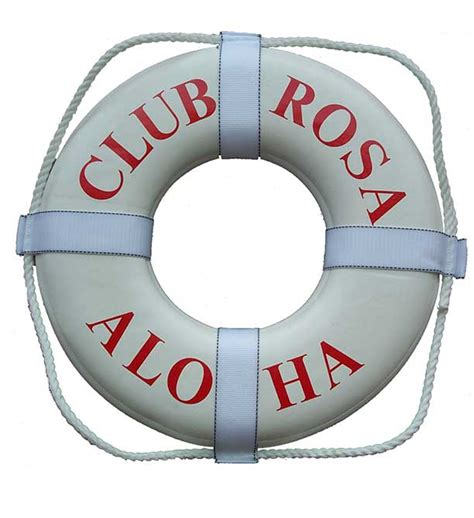personalized boat buoy personalized life ring buoy