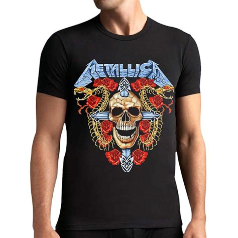 tops tees heavy metal t shirt fashion metallica men t shirt men online buy wholesale black friday from china black friday