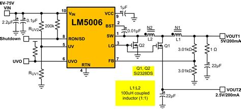 tapped inductor circuit eight switching circuits to power wide vin applications brought to you by vijay choudhary and