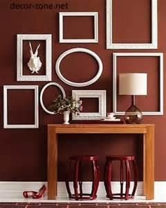 15 home wall decor ideas with decorative frames
