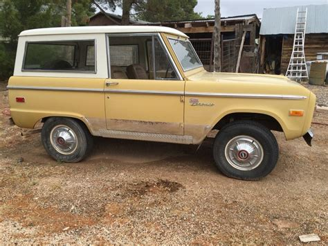 ford bronco for sale 1971 ford bronco for sale