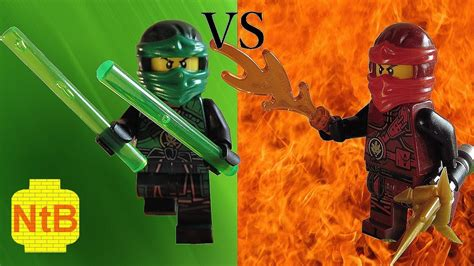 Lego Ninjago Vs lego ninjago vs lloyd