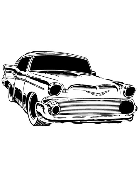 coloring pages of classic cars classic car coloring page h m coloring pages