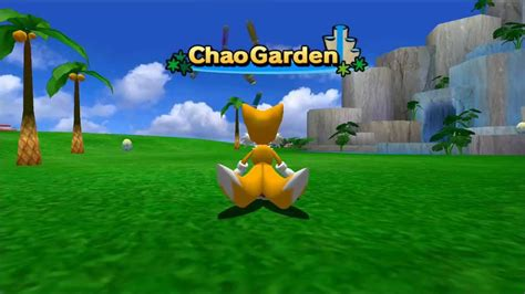 lets play sonic adventure 2 chao garden part 1