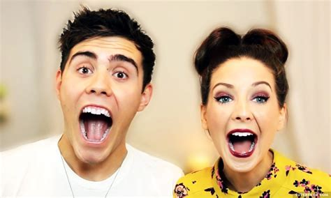 Or Zoella And Alfie Alfie Deyes And Zoella Www Imgkid The Image Kid Has It